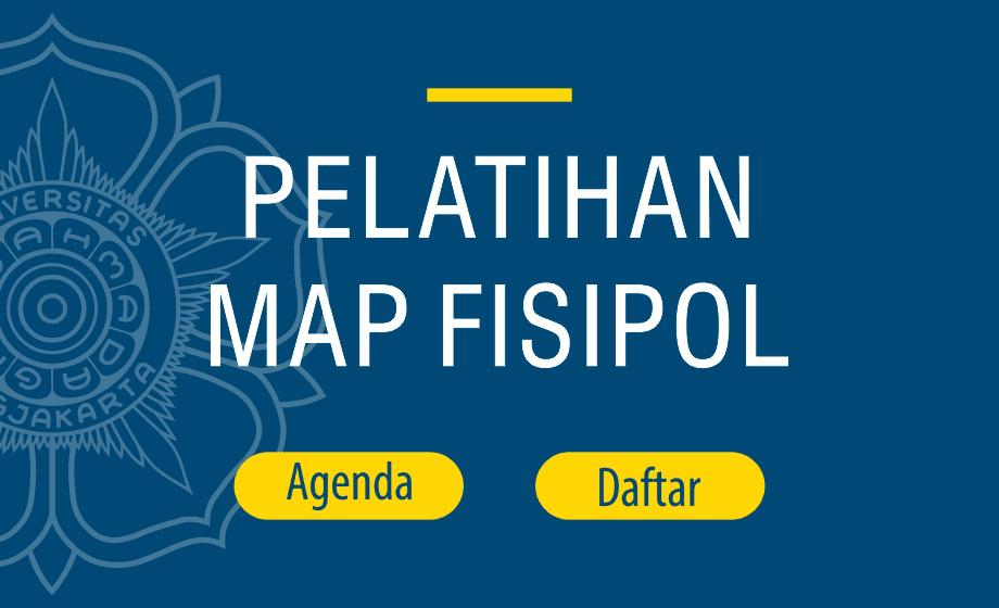 PELATIHAN MAP FISIPOL UGM